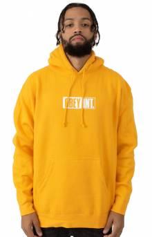 Obey Int. Icon Pullover Hoodie - Gold