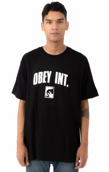 Obey Int. T-Shirt - Black