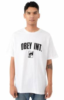 Obey Int. T-Shirt - White