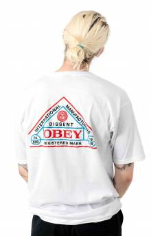 Obey International Seal T-Shirt - White