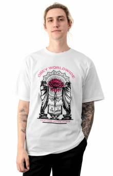 Obey Knowledge and Basic T-Shirt - White
