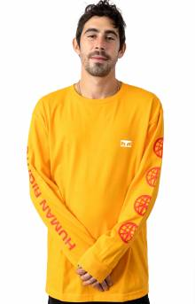 Obey One Love L/S Shirt - Gold