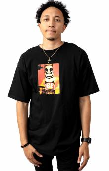 Obey Pole 30 Years T-Shirt - Black
