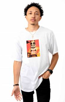 Obey Pole 30 Years T-Shirt - White