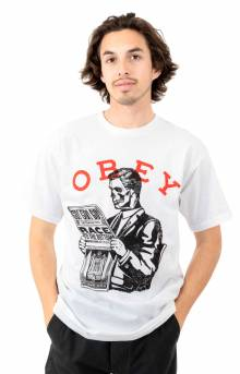 Obey Race To The Bottom T-Shirt - White