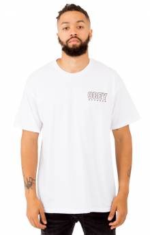 Obey Records T-Shirt - White