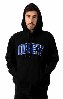 Obey Sports Pullover Hoodie - Black