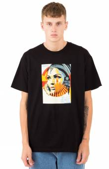 Obey Target Exceptions T-Shirt - Black