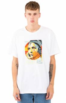 Obey Target Exceptions T-Shirt - White