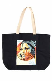Obey Target Exceptions Tote Bag - Black