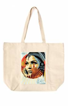 Obey Target Exceptions Tote Bag - Natural