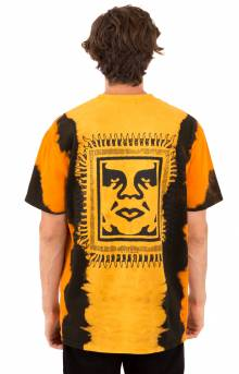 Obey Tribal People T-Shirt - Gold