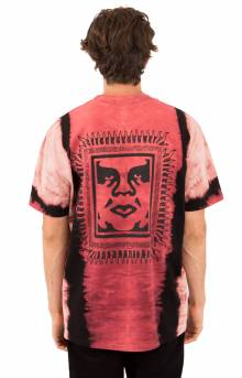 Obey Tribal People T-Shirt - Red