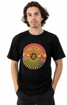 Obey Tunnel Vision T-Shirt - Black