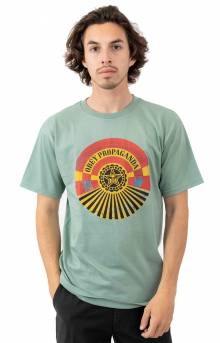 Obey Tunnel Vision T-Shirt - Sage