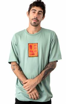 Obey Type (Icon) Face T-Shirt - Sage
