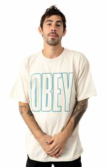 Obey Worldwide Line T-Shirt - Natural