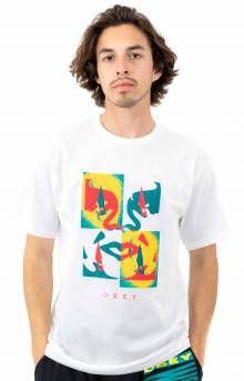 Obey X - Acto Icon Face T-Shirt - White