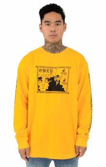 Obey Yourself L/S Shirt - Gold