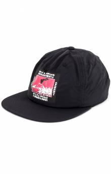 Out There Snap-Back Hat - Black