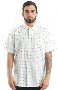 Paradise Point Button-Up Shirt - White