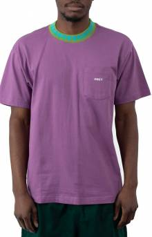 Plona Pocket T-Shirt - Purple Nitro