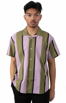 Shanty Button-Up Shirt - Lilac Multi
