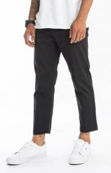 Straggler Flooded Pants - Black