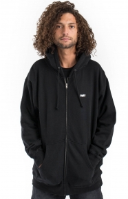 The Creeper Zip-Up Hoodie - Black