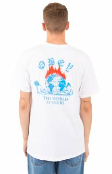 The World Is Yours T-Shirt - White