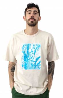 Torn Icon Star T-Shirt - Natural