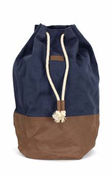 Uptown Duffle Backpack - Navy