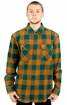 Vedder L/S Button-Up Shirt - Dark Teal Multi