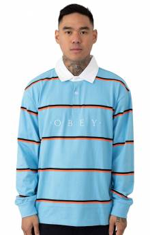 Washer Classic L/S Polo - Light Blue