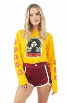 Afrocentric L/S Shirt - Gold