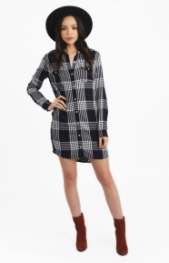 Obey Womens Clothing, Chelsea Shirt Dress