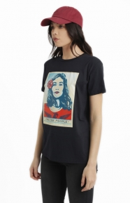 Obey Womens Clothing, Defend Dignity T-Shirt