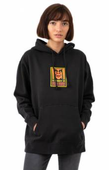 Exclamation Pullover Hoodie - Dusty Black