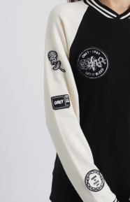 Obey Womens Clothing, Far Out Crewneck