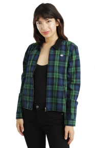 Maddy Zip Flannel