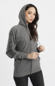 Obey Womens Clothing, New Times Zip-Up Hoodie