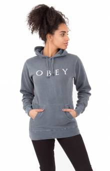 Novel Obey 2 Pullover Hoodie - Dusty Black