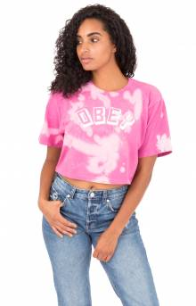 Obey New World T-Shirt - Magenta