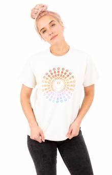Obey Psych Smile T-Shirt - Creme