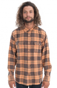 OBEY Clothing, Wyatt Button-Up Shirt - Rust