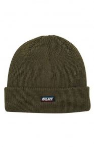 934f2d59d61 Palace Flag Label Beanie - Army Green