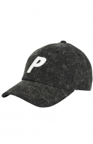502596e0a1f5 P 6 Panel Hat - Acid Wash Black