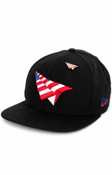 Crown American Dream Snap-Back Hat - Black