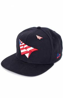 Crown American Dream Snap-Back Hat - Navy