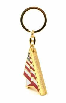 Independence Keychain - Gold